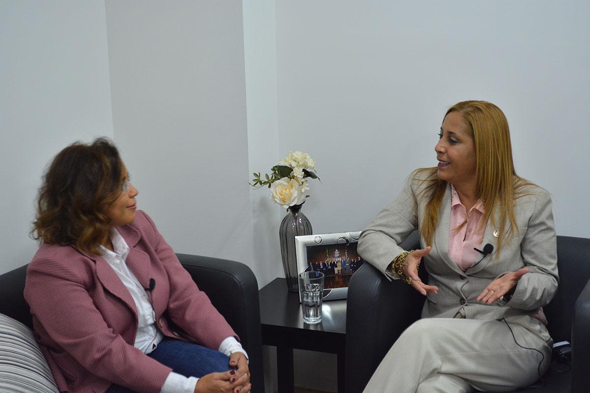 Entrevista com a deputada estadual Clélia Gomes