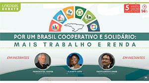 Por um Brasil Cooperativo e Solidário: mais trabalho e renda